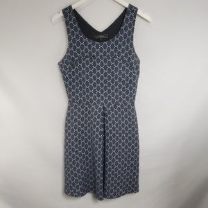 Love Stitch Chainlink Fit and Flare Dress